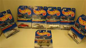 5 98 HOT WHEELS ARTISTIC  AND 2 TREASURE HUNTS
