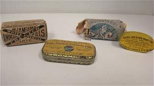 VINTAGE APOTHECARYPHARMACEUTICAL ITEMS   3 ITEMS