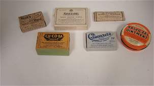 VINTAGE APOTHOCARYPHARMACUTICAL ITEMS