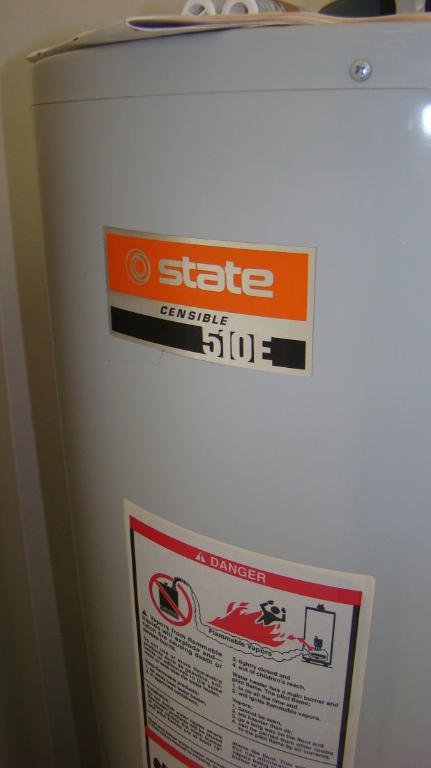 NEW STATE CENSIBLE 510E HOT WATER HEATER - 3