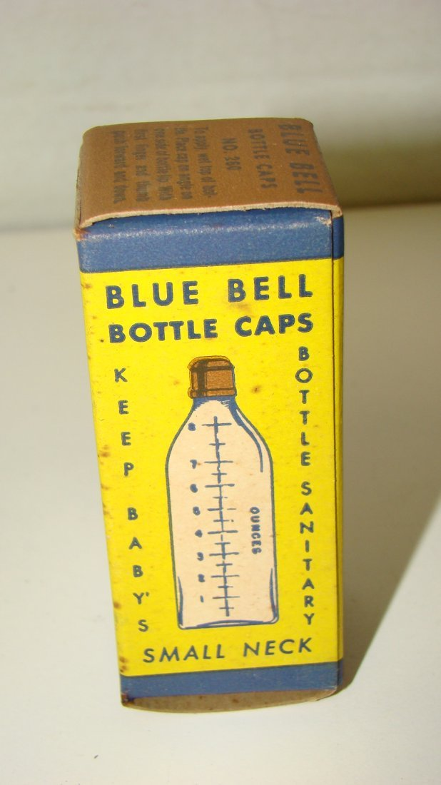 LIKE NEW VTG TEMP-GUARD BABY BOTTLE W/ THERMOMETER - 6