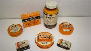7 NEWOLD STOCK PHARMACEUTICAL COLLECTIBLES