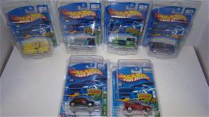 7 MIP HOT WHEELS TREASURE HUNTS