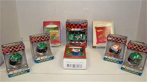 8 NIB NASCAR  OTHER ORNAMENTS
