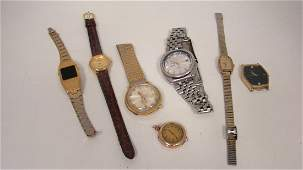 7 VARIOUS USED WATCHES