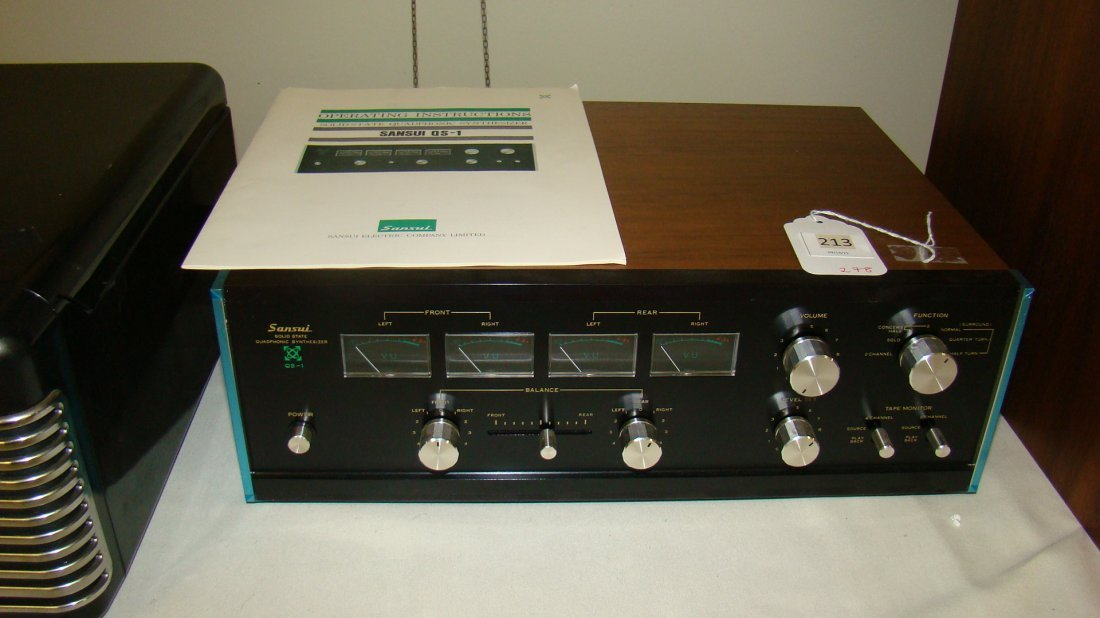 SANSUI QS-1 SOLID-STATE SYNTHESIZER-ORIGINAL BOX