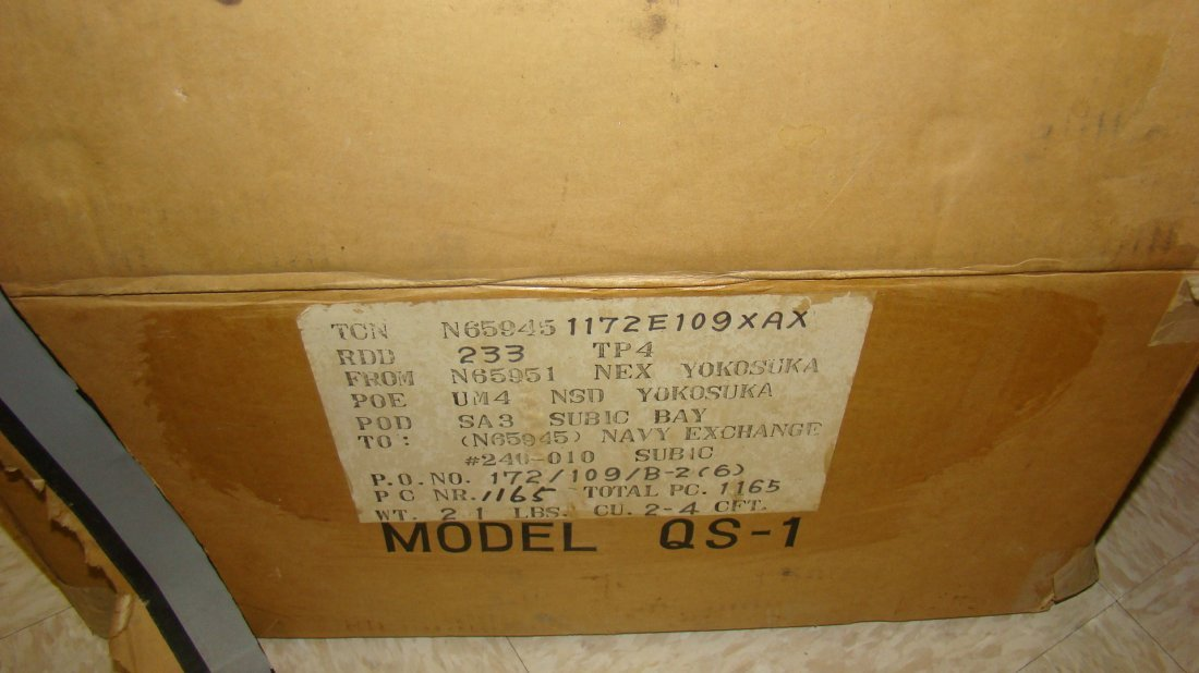 SANSUI QS-1 SOLID-STATE SYNTHESIZER-ORIGINAL BOX - 4