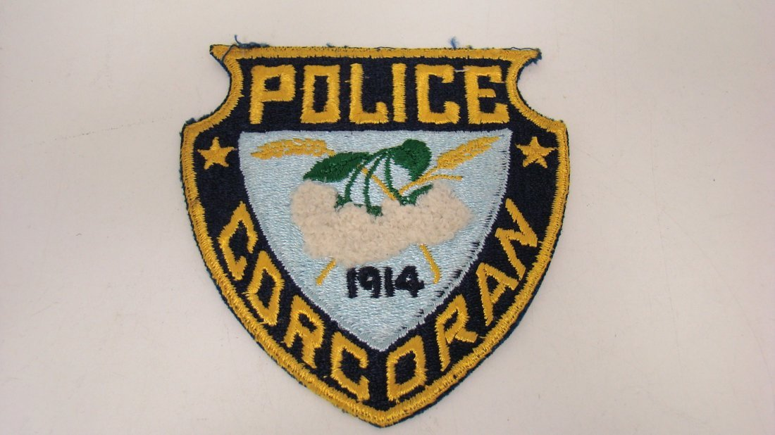 CORCORAN POLICE SHOULDER PATCH