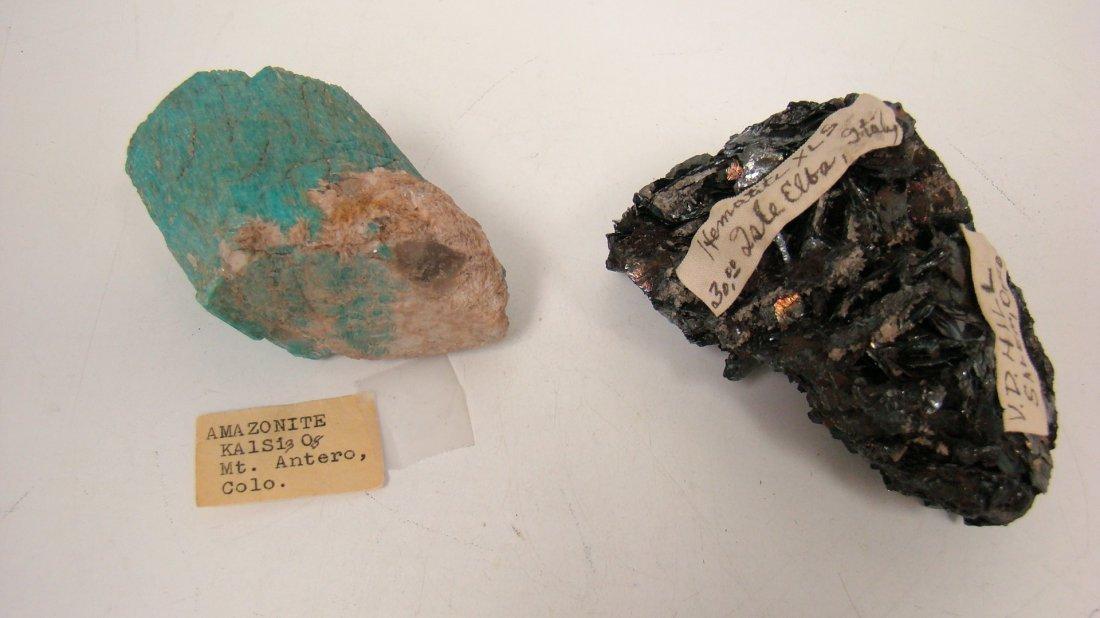 AMAZONITE AND A HEMATITE XLS