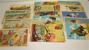 41 VARIOUS VINTAGE COMIC POST CARDS