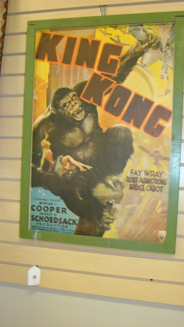 VINTAGE REPRO KING KONG MOVIE POSTER