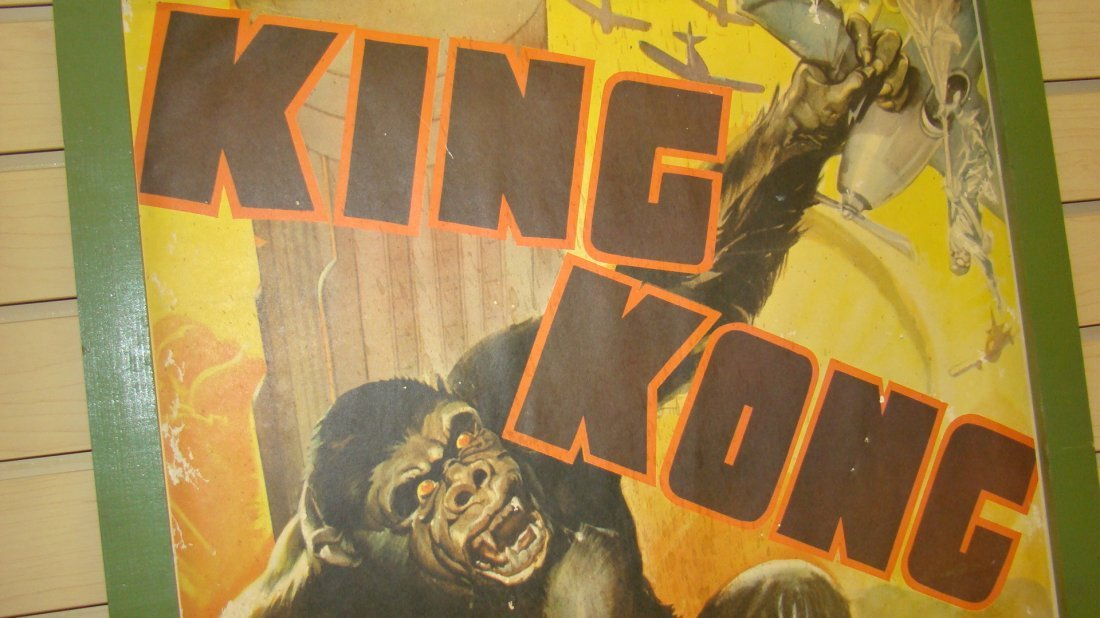 VINTAGE REPRO KING KONG MOVIE POSTER - 2