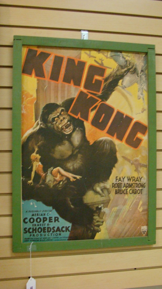 VINTAGE REPRO KING KONG MOVIE POSTER - 4