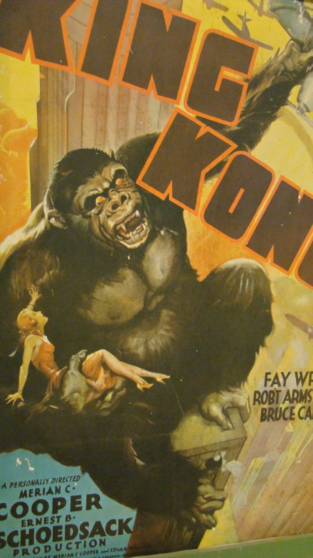 VINTAGE REPRO KING KONG MOVIE POSTER - 5