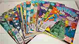 20 DC SUPERMAN & SUPERBOY COMICS