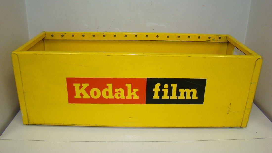 VTG KODAK METAL ADVERTISING FILM BOX