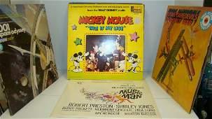 11 VINTAGE 33 RPM RECORDS