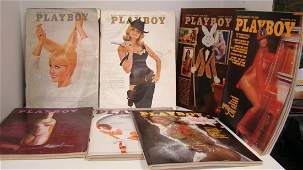 11 VTG VARIOUS PLAYBOY MAGAZINES2 1960S
