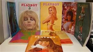 11 VTG PLAYBOYS1967S TO 70S
