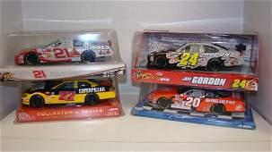 4 ACTION NASCAR DIECAST CARS  NIB