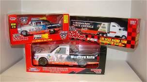 3 NIB RACING CHAMPIONS DIECAST CARS