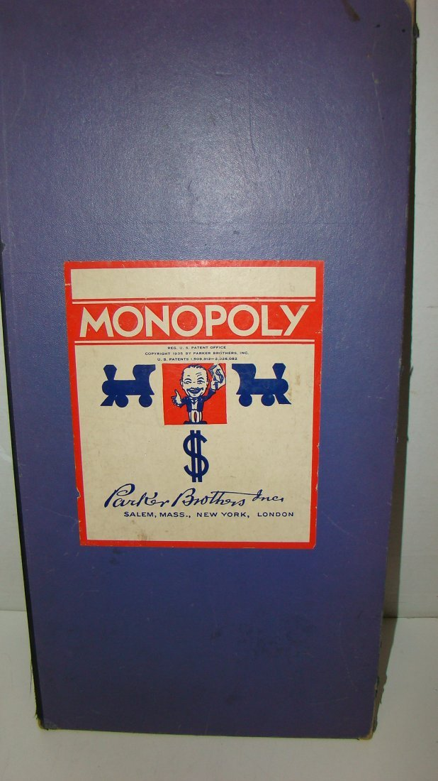 1933 MONOPOLY & 1954 SORRY GAME BOARDS & PCS - 5