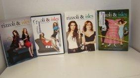 First 4 Seasons Rizzoli & Isles On Dvd