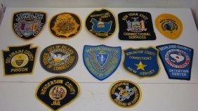 12 Various Law Enforcement Patches