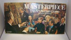 1970 Pb Masterpiece Art Auction Game