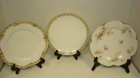 5 Various Vintage Haviland Plates