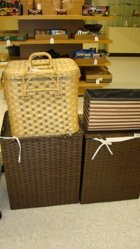 Wicker Hampers-picnic And Other Baskets