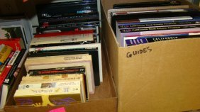 2 Boxes Of Real Estate Books Etc