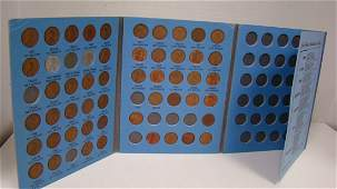 LINCOLN HEAD CENT COLLECTOR BOOK
