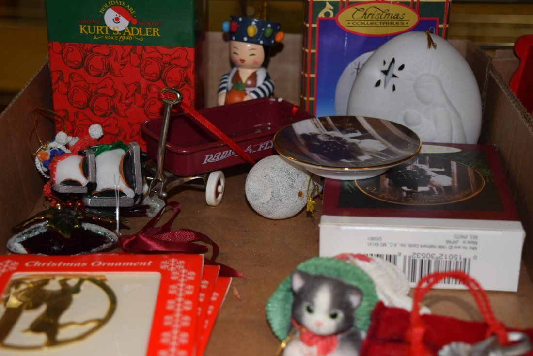 2 BOXES-VARIOUS CHRISTMAS ITEMS