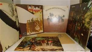7 VARIOUS VINTAGE ROCK RECORD ALBUMS