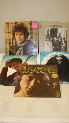 6 Vintage Record Albums