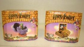 2 Nib Harry Potter Trinket Boxes