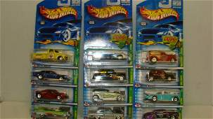 COMPLETE 2002 SET OF HOT WHEELS TREASUE HUNTS
