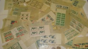 Various Usps Mint Block Of 4 Stamps