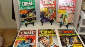 6 Issues Crime Suspen Story Comic Books