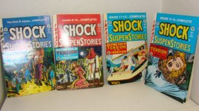 1st 4 Issues Of Shock Comic Books