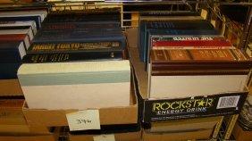2 Box Lots Various Books