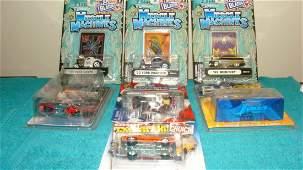 7 VARIOUS NIB DIECAST CARS