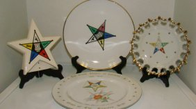 4 Eastern Star Collectibles
