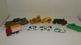 9 Various Vintage To Newer Toy Cars