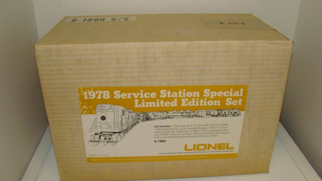 FACTORY SEALED LIONEL NO. 6-1868 S/S