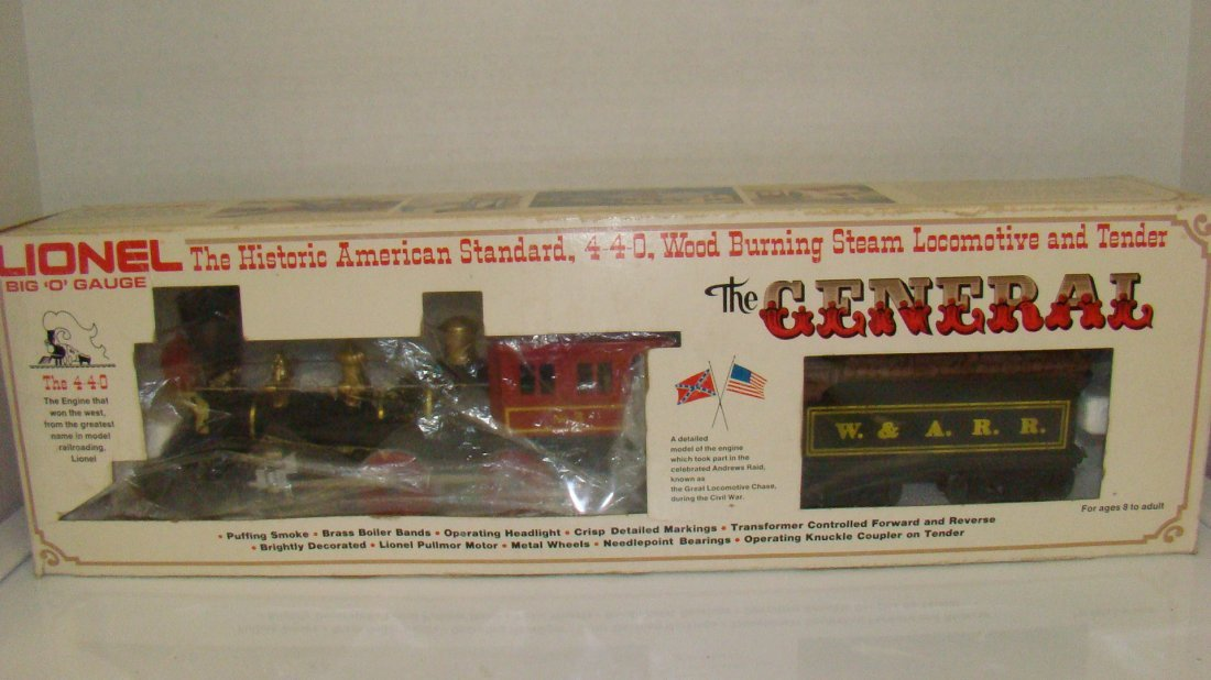 LIONEL NO. 6-8701 BIG O LOCOMOTIVE & TENDER-BOX
