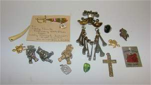 VARIOUS COLLECTIBLE COSTUME JEWELRY  MORE