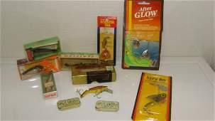 BOX VARIOUS FISHING TACKLE