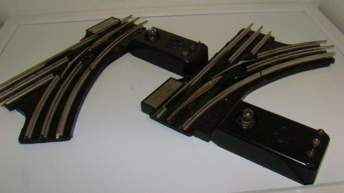 LIONEL NO. 022 RH & LH O GAUGE SWITCHES
